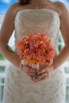 Bouquet // Nautical Wedding // @Windjammer Landing #destinationwedding #windjammer #wedding  #nauticalwedding