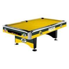 Nfl Billiard Table 8 Pool Green Bay Packers Cheesehead