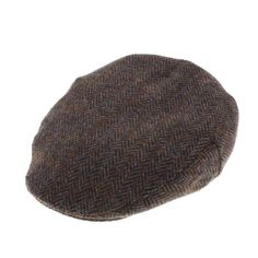 Men's Harris Tweed Stornoway Flat Cap