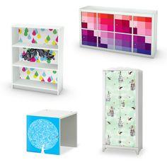 Mykea verkoopt vinyl #stickers van hoogwaardige kwaliteit met uniek ontworpen #designs. De stickers zijn helemaal aangemeten op de meest verkochte IKEA-producten. Van gekleurde #patronen tot #grafische #tekeningen; je kunt je #IKEA #meubels compleet personaliseren.
