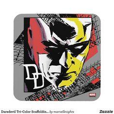 Daredevil Tri-Color Scaffolding Graphic iPhone 8 Plus Case. While supplies last, grab these cool classic Daredevil merchandise. Perfect comic book hero gift ideas for birthdays. Superhero Design, Scaffolding, Daredevil, Comic Book Heroes, Ipad Mini, Galaxies, Marvel Comics, Iphone Cases, Iphone 8