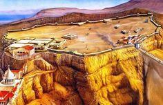 Masada es conocida por su destacada importancia en los compases finales de la Primera Guerra Judeo-Romana (también conocida como la Gran Revuelta Judía), cuando el asedio de la fortaleza por parte de las tropas del Imperio romano condujo finalmente a sus defensores a realizar un suicidio colectivo
