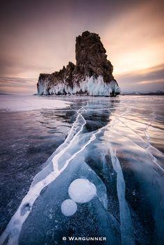 Photo Frozen Baikal by Byron Prukston on 500px