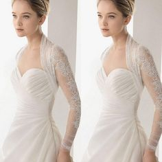 2015 Lace Long Sleeves Bridal Jacket Custom Made Sweetheart Sheer Back Bridal Wraps Hot Selling Lace Jacket For Brides Wedding Accessory From Sexypromdress, $9.43 | Dhgate.Com