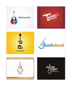 20 Guitar Based Logo Design Inspiration