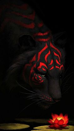 New Wild Nature Art Animals Ideas Tier Wallpaper, Animal Wallpaper, Trendy Wallpaper, Mythical Creatures Art, Fantasy Creatures, Big Cats Art, Cat Art, Dark Fantasy Art, Fantasy Artwork