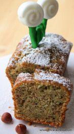 Kuchen mit Fondant-Blümchen