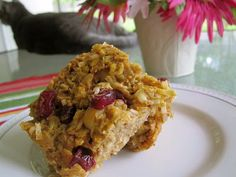 Fit2Flex*: Carrot Cake Baked Oatmeal