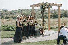 Wedding Ceremony. Chaska Wedding Venue. Minnesota Wedding Venue.Outdoor wedding venues in Minnesota.Rustic wedding venues in MN.  #mnweddingvenue #mnwedding Photographer: Rachel Lynn Photography   Venue: The Outpost Center
