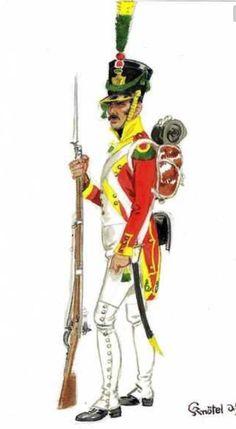 Velite del battaglione velite del regno di Napoli