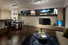 飾り棚 造作家具の施工例|自分デザイナーズマンション 【宝不動産】新築分譲マンション