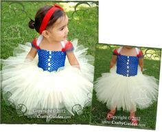 Make a Snow White themed tutu