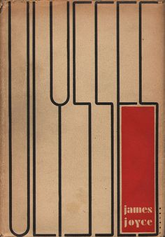 For the landmark 1934 Ulysses, the jacket, cover/binding and interior design were all produced by Ernst Reichl, for Random House
