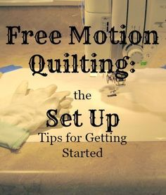 Free Motion Quilting Tips - Free Motion Quilting Tips -You can find Quilting and more on our website.Free Motion Quilting Tips - Free Motion Quilting Tips - Machine Quilting Patterns, Quilting Tools, Quilting Tutorials, Quilt Patterns, Quilting Ideas, Quilting Rulers, Quilting Projects, Quilting Frames, Quilting Board