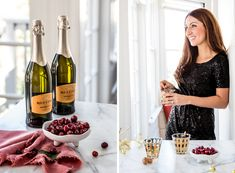 Crystal Palecek's Holiday Prosecco Cocktail Recipes | Rue