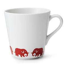 Servis Elefant Mugg Lite
