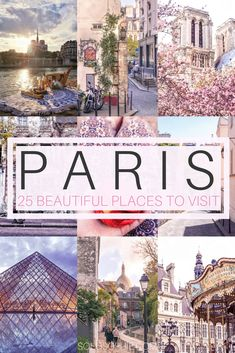 Breathtakingly beautiful places in Paris you won't want to miss on any visit to the capital France. Some of the quirkiest and prettiest attractions you must visit when in Paris!