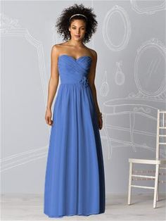 mimics the accents of my dress, and there is also a short version.