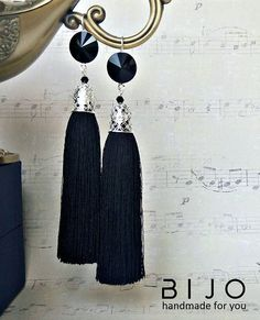 Handmade tassel earrings. Серьги -кисточки, серьги -кисточками.