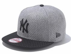 "NEW ERA x MLB ""Yankees Woven Fabric"" 9Fifty Snapback Cap"