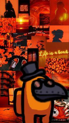 Orange Wallpaper, Mood Wallpaper, Iphone Background Wallpaper, Retro Wallpaper, Cartoon Wallpaper Iphone, Iphone Wallpaper Tumblr Aesthetic, Aesthetic Pastel Wallpaper, Aesthetic Wallpapers, Collage Background