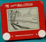 toys Etch-a-sketch Had one of these, its funny how you could never get that diagonal line as good as the picture. My Childhood Memories, Childhood Toys, Sweet Memories, 70s Toys, Retro Toys, Vintage Toys, Etch A Sketch, I Remember When, Oldies But Goodies