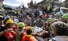 Terremoto en Italia. (AP)