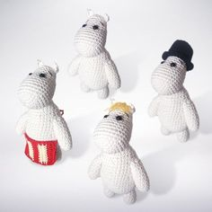 Whether you make the whole family or a dress up one, everyone needs a Moomin in their life!