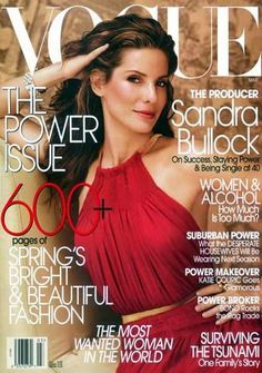Sandra Bullock - Vogue Magazine [United States] (March 2005)