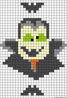 BOO Witch Hats Cross Stitch Pattern