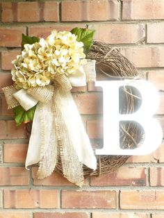Hey, I found this really awesome Etsy listing at https://www.etsy.com/listing/181864164/spring-wreath-hydrangea-wreath-grapevine