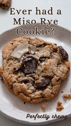 Best Cookie Recipes, Sweet Recipes, Healthy Desserts, Dessert Recipes, Healthy Peanut Butter Cookies, Miso Soup, Cake Mix Cookies, Delicious Chocolate, Chocolate Chip Cookies