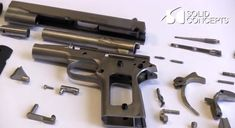 The world's first printed metal gun by Solid Concepts, a workable solution for fully functional firearm prototypes. 3d Printing Store, 3d Printing Companies, 3d Printing Machine, 3d Printing News, 3d Printing Service, 3d Printer Projects, 3d Prints, Nanotechnology, First World