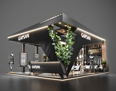 Discover recipes, home ideas, style inspiration and other ideas to try. Exhibition Stall Design, Showroom Design, Cafe Design, Exhibition Stands, Exhibit Design, Exibition Design, Design Thinking Process, Pavilion Design, Pergola