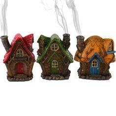 Fairy House incense burner