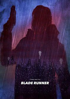 Blade Runner Poster by Dean Walton