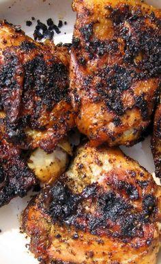 Thai Grilled Chicken Thighs Recipe