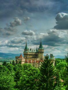 Bojnice Castle near Prievidza or Trenčín, Slovakia