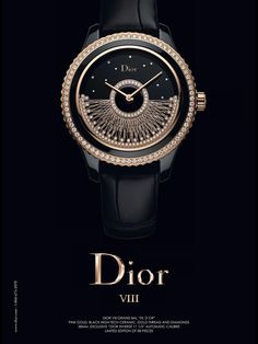 Dior VIII Watch Advertising