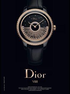 Dior VIII Watch Advertising