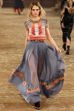 Fotos de Pasarela   Chanel Métiers d'Art Paris-Dallas, pre-fall 2014 Prefall 2014 Nueva York   83 de 95   Vogue México
