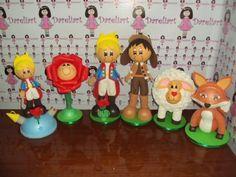 Dareliart: Pequeno Príncipe 35 cm kit com 6 personagens - Enc...