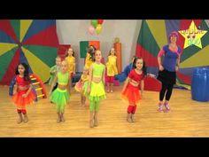 Debbie Doo & Friends! - Let's Star Jump! - Dance Song For Children - YouTube