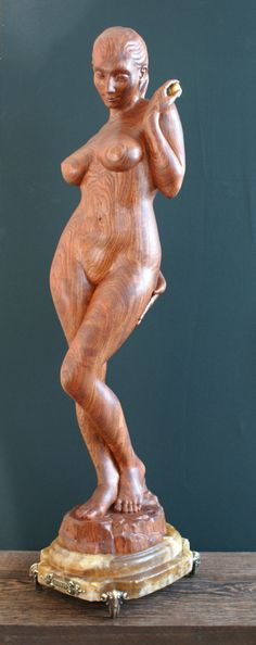 "Collection of erotic woodworks » Wooden sculpture ""Eva"" by Kvitka Anatoly"