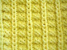 Pleat Pattern Knitting Stitch