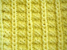 hoiw to knit using pleat pattern