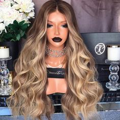 Wigs + Extensions – My hair and beauty Curly Hair Styles, Natural Hair Styles, Loose Waves Hair, Luxury Hair, Blonde Ombre, Ash Blonde, Human Hair Wigs, Remy Hair Wigs, Human Hair Extensions