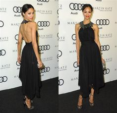 She is so flipping beautiful.  Love her dress and shoes