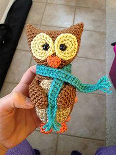 Ravelry: Wise Owl Ornament pattern by Sahrit Freud-Weinstein