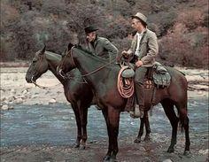 Paul Newman 1925-2008 acteur et Robert Redford acteur http://www.swashbuckler-films.com/butch-cassidy-et-le-kid.html
